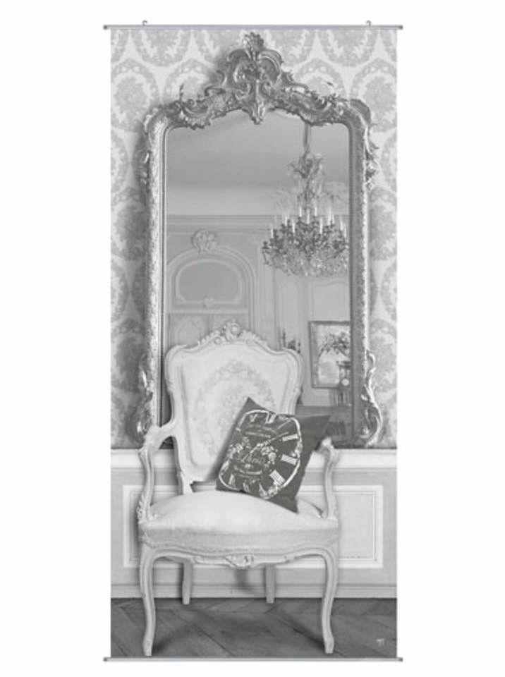 Wandbild 96x212 cm onlineshop miroir deco und trompe l 39 oeil - Miroir trompe l oeil ...