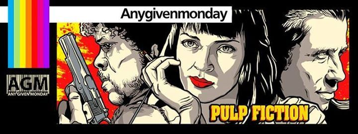 ANY GIVEN MONDAY #pulpfiction w Borghetta Stile at Qube INGRESSO 8  con FREE DRINK in #LISTASUPERMAN fino all' 1.00! AFTER 8  PRENOTAZIONI AGM IN LISTA SUPERMAN 3934786744 (sms/whatsapp/telegram) Per essere inseriti in lista Vega basta appuntare nome e numero di persone sulla bacheca di questo evento. ONE SHOT ONE EURO UNTIL 00.00! 3 SHOT X 5 EURO ALL NIGHT LONG! #thisisAGM  Questo lunedì Any Given Monday presenta il Party Evento del film  Pulp Fiction pellicola del 1994 diretta da Quentin…