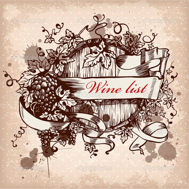 depositphotos_12722017-Wine-label-design-with-grapes.jpg (1024×1024)