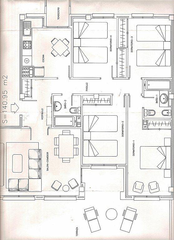 29 best images about planos casas 1 piso on pinterest for Planos de construccion de casas