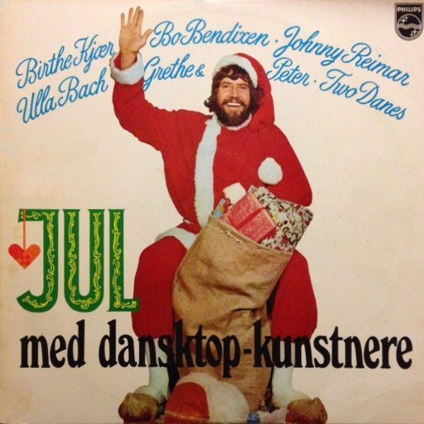 """""""Jul med dansktop-kunstnere"""". På denne plade bidrager Ulla Bach med 2 velkente julesange """"Det kimer nu til julefest"""" og """"Julen har bragt velsignet bud"""". Den sidste sang er også udgivet på pladen """"Jule-toppen"""""""