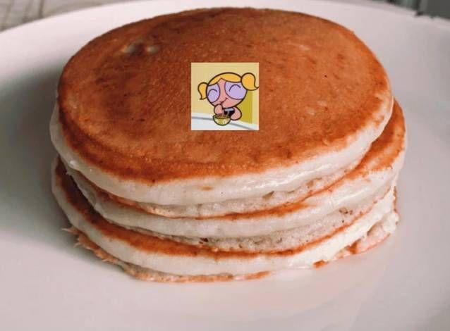 بان كيك بالصور من Meaad Recipe Food Breakfast Pancakes
