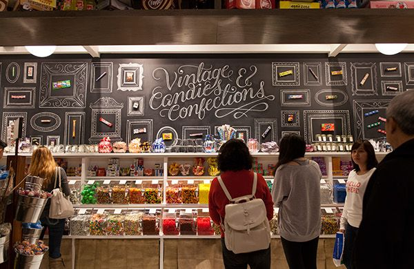 Lolli and Pops, Purveyors of Sweetness. Candy store design.