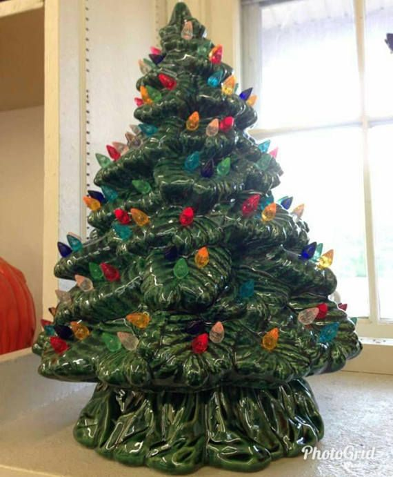 Ceramic Christmas Tree Ceramic Tree 15 5 Inches Sierra Ceramic