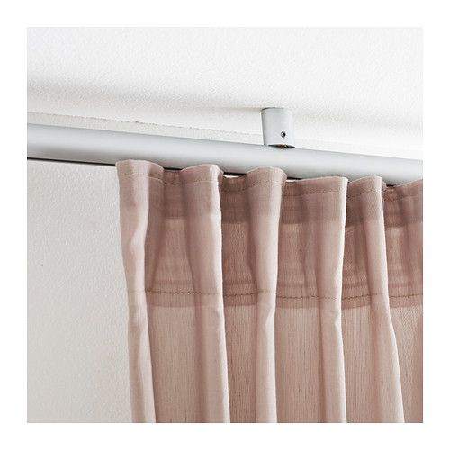 to use with curtain as a room divider have corner pices as well could make a great little nook kvartal ceiling fitting ikea for mounting kvartal track - Ceiling Curtain Track