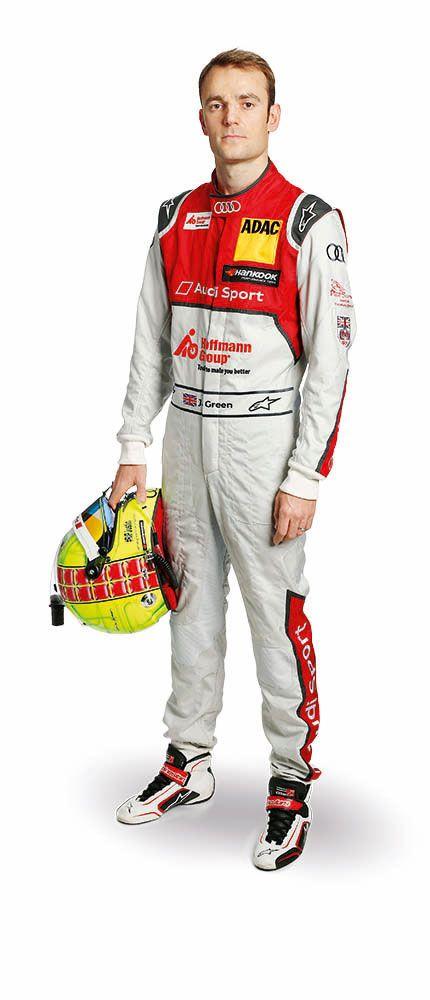 Jamie Green fährt 2016 für Audi Sport Team Rosberg in der DTM