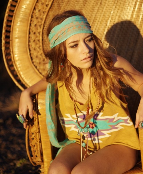hippie chic my style pinterest head scarfs turquoise and summer. Black Bedroom Furniture Sets. Home Design Ideas