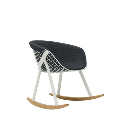 Kobi Rocking is a minimalist chair created by Paris-based designer Patrick Norguet.