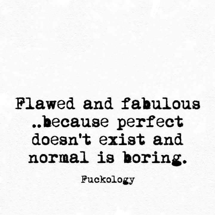 Flawed and feisty