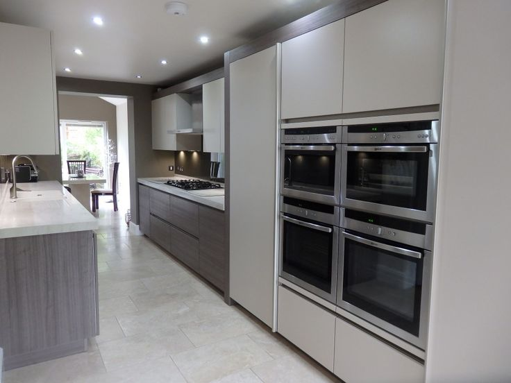 Superb A Two Tone SieMatic Kitchen In The UK Combines White And Titan Pine For A Ideas