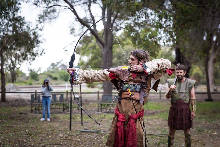 Daario not so bad with a bow