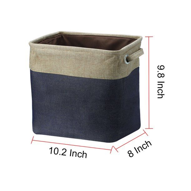 Fabric Storage Basket Closet Toy Clothes Towel Storage Bins Container Walmart Com In 2020 Towel Storage Fabric Storage Storage Bins