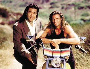 Renegade Lorenzo Lamas (Reno Raines) et Branscombe Richmond ( Bobby Sixxkiller <3)