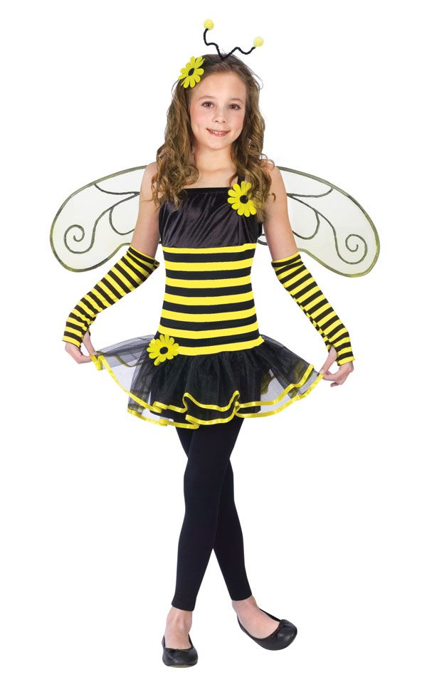 Kids Halloween Costume Bumble Bee Bumblebee Outfit M Girls Medium (Size  sc 1 st  Pinterest & The 105 best Bee Costumes images on Pinterest | Bees Carnival and ...