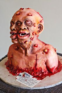 Scary Halloween Cakes | gmgao on IReallyLikeFood