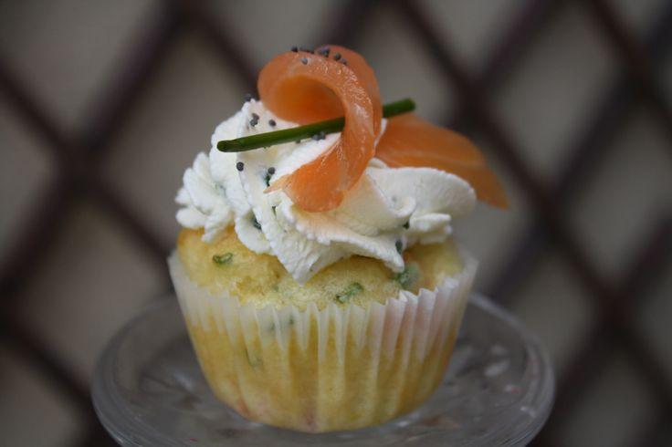 salmon cupcakes