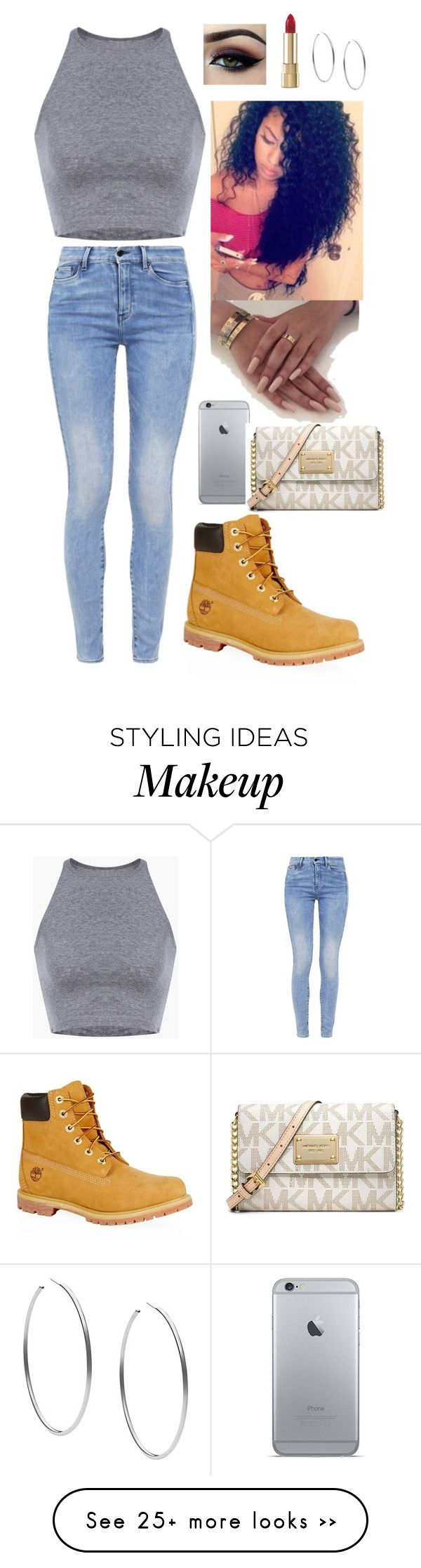 """Football game"" by brooklyn-fashion1 on Polyvore featuring G-Star, Timberland, Ardell, Dolce&Gabbana and Michael Kors"