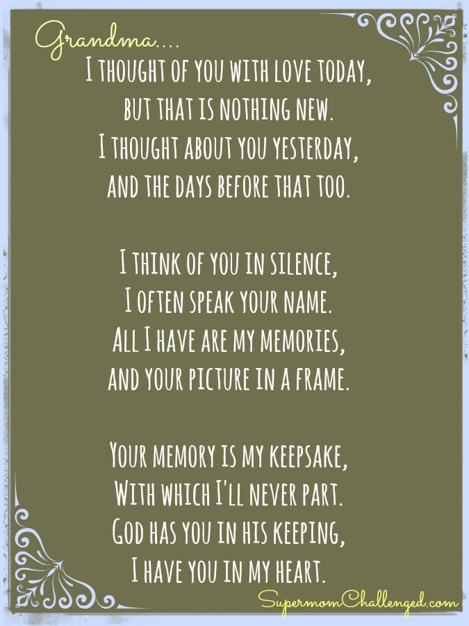 Memoriam Birthday Poems