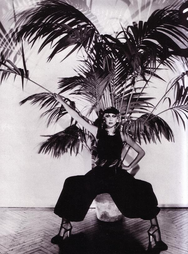Marie Helvin wearing Valentino Photos: David Bailey 1976