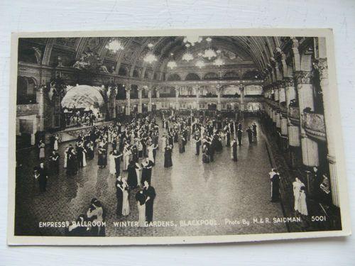 EMPRESS BALLROOM WINTER GARDENS BLACKPOOL CARD NO 5001 PUB BY REGENT FINE ART | eBay