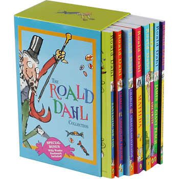 The Roald Dahl Collection: 8 Book Box Set | After watching The BFG, I must read all of these. Only one that I'm sure was read to me when I was little was The Twits, for some reason!