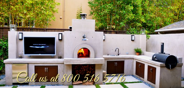 Wood Fired Pizza Oven - Outdoor Pizza Oven | Los Angeles Ovenworks