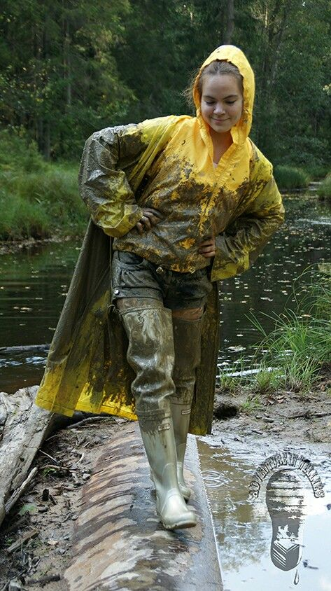 336 Best Images About Rainwear In Mud On Pinterest