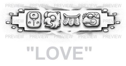 love mayan glyphs tattoo design c 187 � aztec tattoos