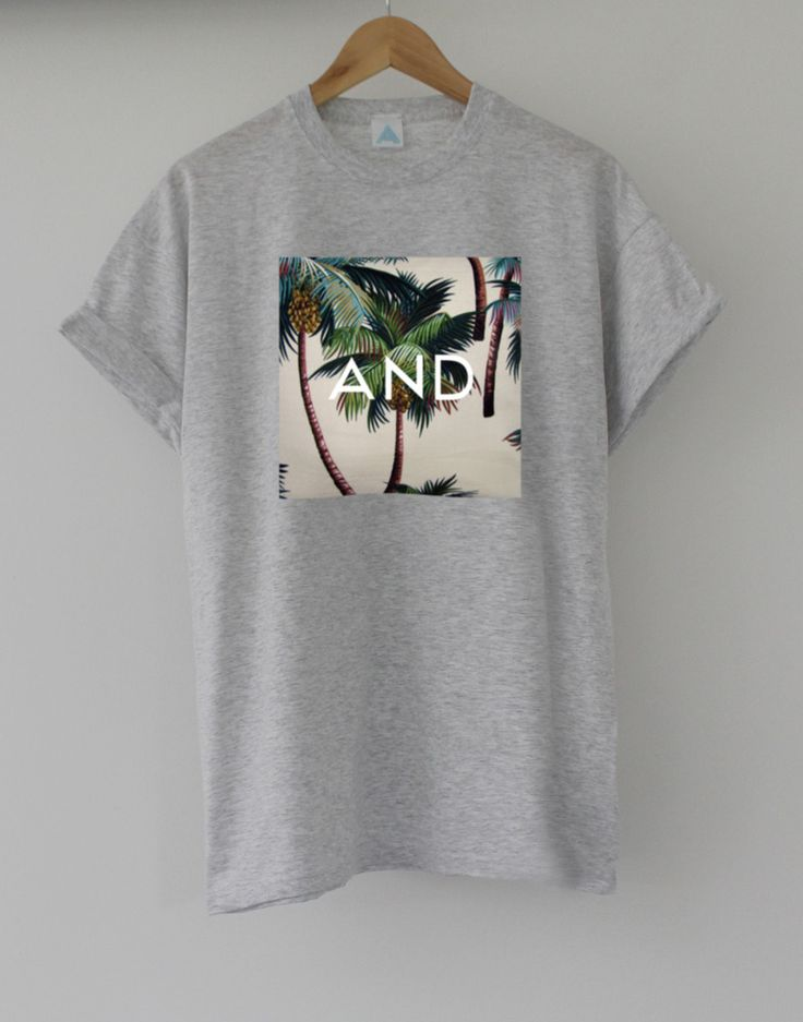 Tropical and Tee. Hand made, printed & limited edition. £11.99