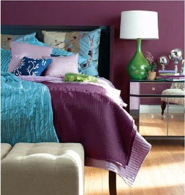 94 best colors purple aqua teal turquoise robin 39 s egg for Purple teal bedroom