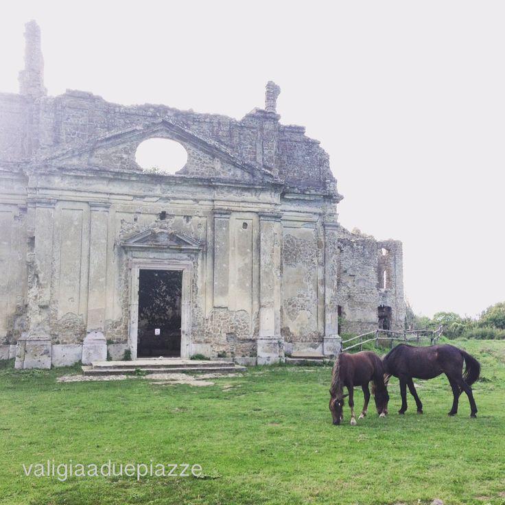 Antica Monterano, la città perduta (set di celebri film) - Lazio