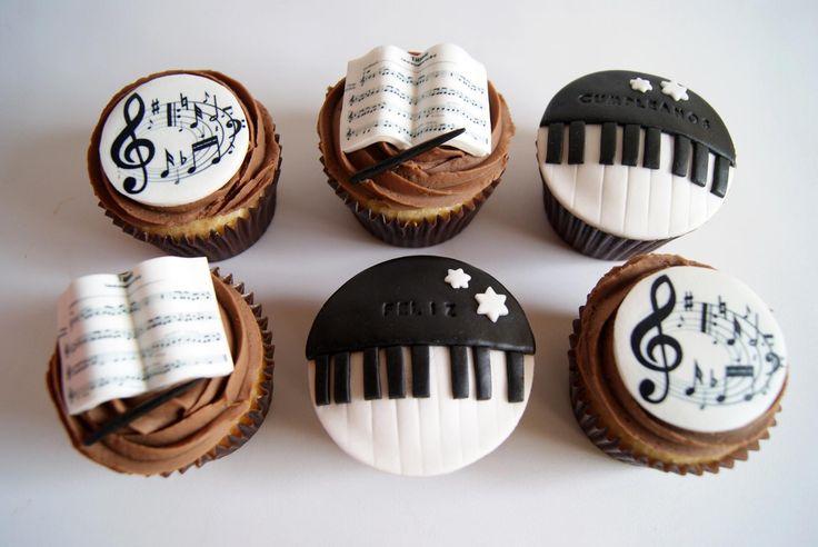 Cupcakes musicales de Artifondant