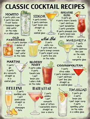 Classic Cocktail Recipes: