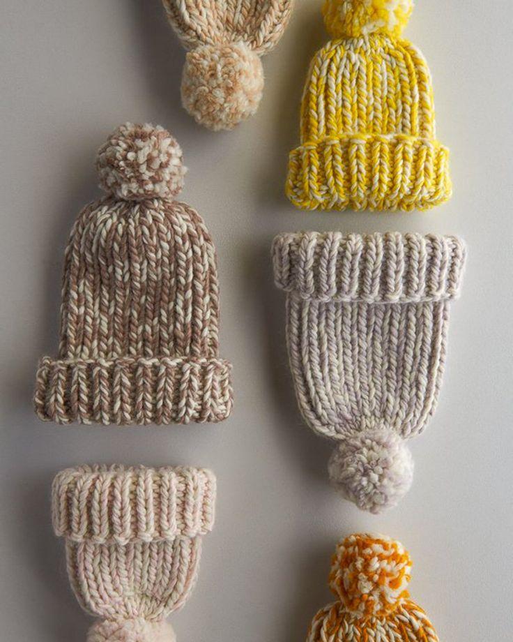20 padrões para tricotar um chapéu