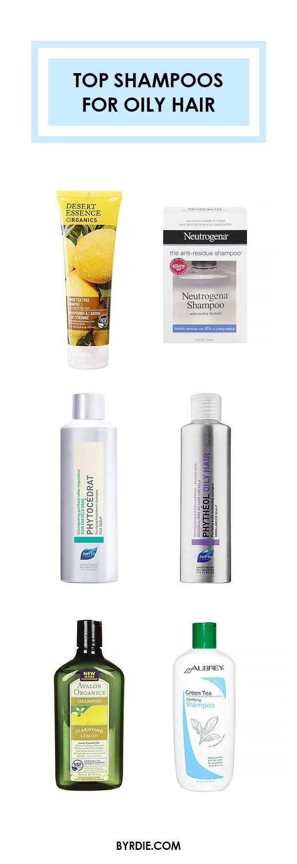 The best shampoos for oily hair