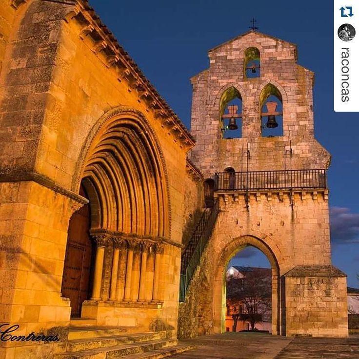 Hoy reposteamos esta estupenda foto de @raconcas en Nuestra Señora de la Natividad de Arcas. Quieres que publiquemos tus fotos de la provincia de #Cuenca? Etiquétanos en tus fotos de la provincia o usa el hashtag #zascandileandoporcuenca!  Románico puro.#romanico #nikonphotography #nikon #night #nocturna #arte #history #historia