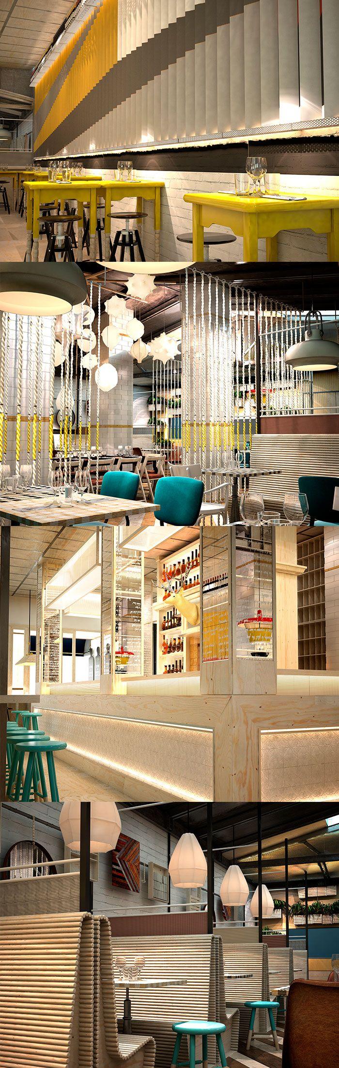 Morimoto Restaurant- a sophisticated interior design by Schoos Group