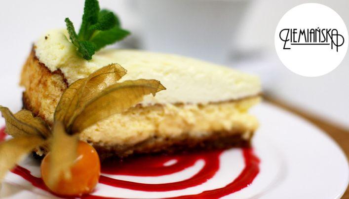 #sernik #cheesecake #coffee Przy takim serniku nie ma mowy o pechowym piątku trzynastego:) Zapraszamy! :) www.ziemianska.pl