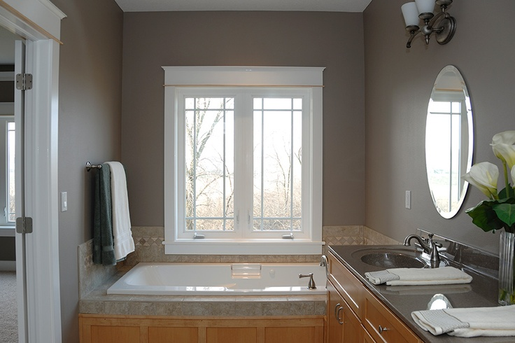 Classic look and ease of maintenance with these vinyl windows -- what more could you ask for? www.windsorwindows.com