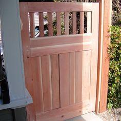 Gartentor selber bauen: Mit dieser Bauanleitung bauen Sie ein robustes Gartentor aus Holz. Schritt für Schritt von der Bohle bis zur Lasur.