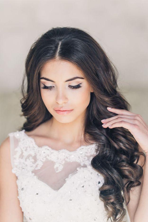 Легкий свадебный макияж со стрелками ::: onelady.ru ::: #makeup #eyes #eyemakeup