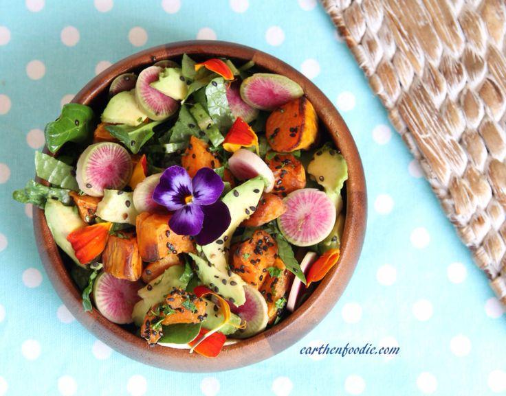 Earthen Foodie Beauty Salad.