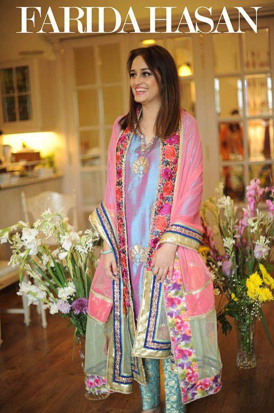 Farida Hasan Eid Luxury Pret and Formals Exhibition Lahore   Secret Closet
