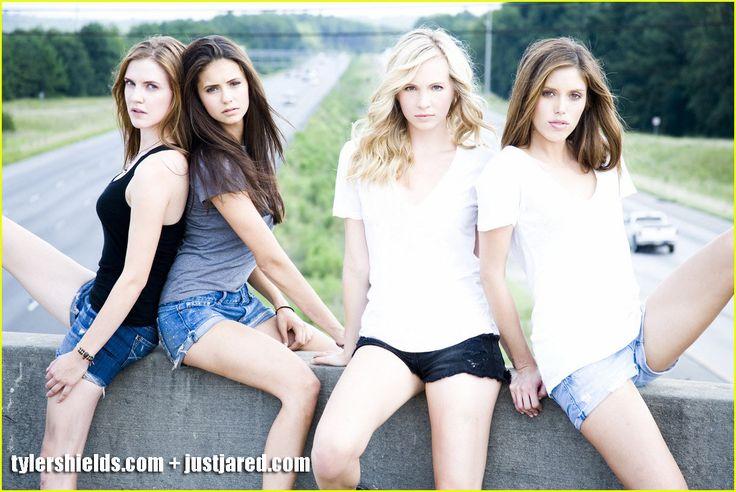 The #Vampire #Diaries girls of season 1