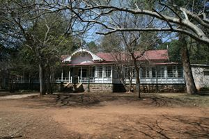 Smuts House aka Doornkloof, Pretoria, South Africa: The former home of General Jan Smuts in Irene is said to be haunted by the ghost of an elderly man with 'a Kruger-style' moustache. He is reported to be the keeper of a secret regarding the whereabouts of Boer treasure buried on the property.