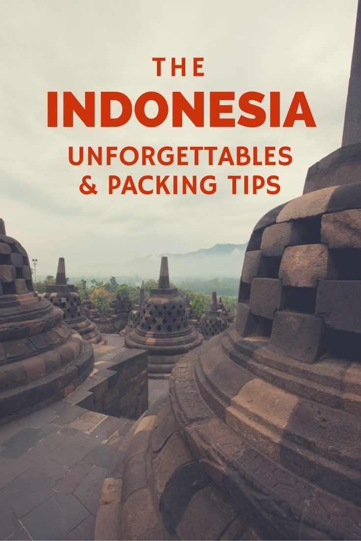 Indonesia is an amazing country that you don't want to miss if you go to Southeast Asia.  See what made it unforgettable for me and what you'll want to think about when you pack for that first trip there.