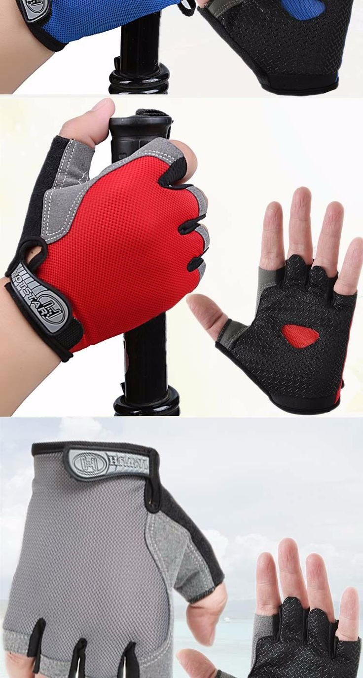 Summer outdoor sports fishing gloves slip gloves half finger cut off all outdoor sports equipment