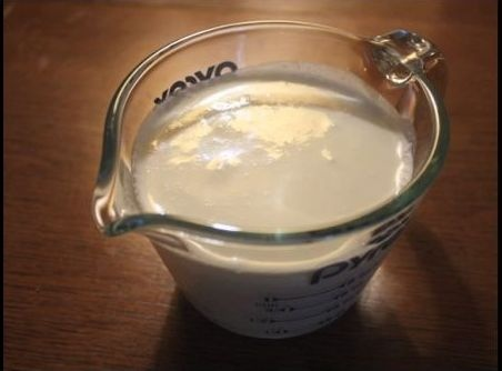 Homemade Heavy Cream Substitute 3/4 cup milk 1/3 cup butter Melt and Combine for Heavy Cream Substitute