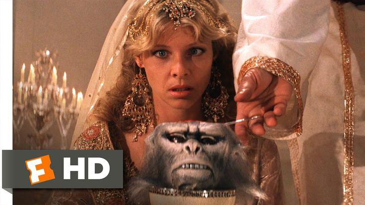 Indiana Jones and the Temple of Doom (3/10) Movie CLIP - Chilled Monkey ...