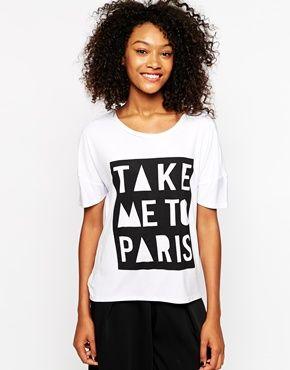 ASOS | Vero Moda Take Me To Paris T-Shirt